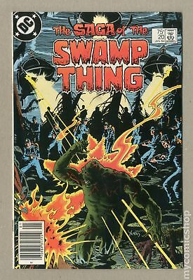 Swamp Thing (1982 2nd Series) #20 VF+ 8.5