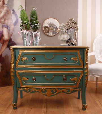 Vintage Pageantry Dresser Baroque Carvings Country House Style Drawers