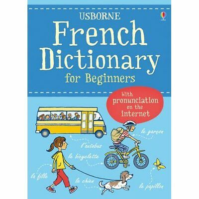 French Dictionary for Beginners (Usborne Language Dicti - Paperback NEW Davies,