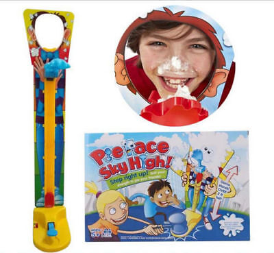 New Pie Face Sky High Game Multiplayer Interactive Fun Family Game Kids Toy Gift