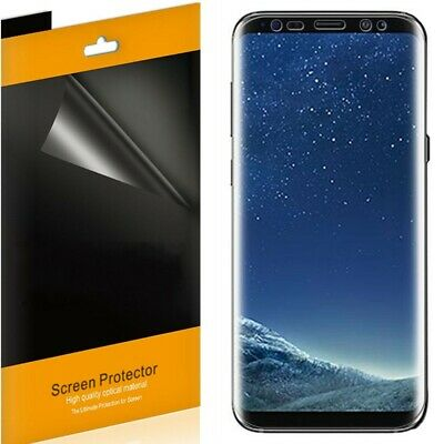 5x For Samsung Galaxy S8 / S8 Plus Full Coverage TPU Clear Screen Protector Film