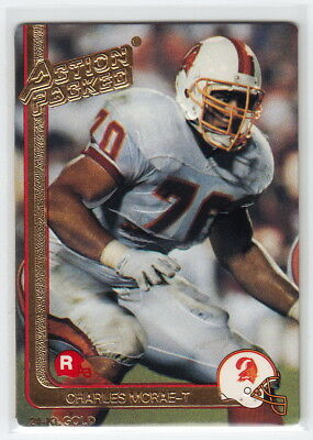 1991 Action Packed Rookie Update 24K Gold #6G Charles McRae