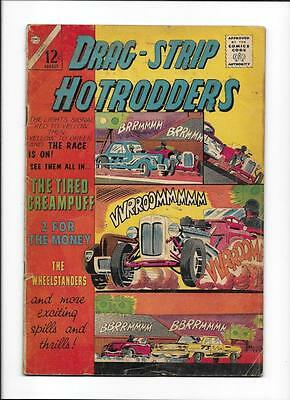 """Drag-Strip Hotrodders #5 [1965 Gd+] """"the Tired Creampuff"""""""
