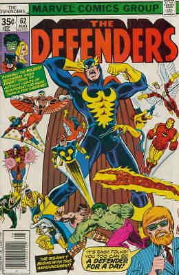 Defenders, The #62 FN; Marvel | save on shipping - details inside