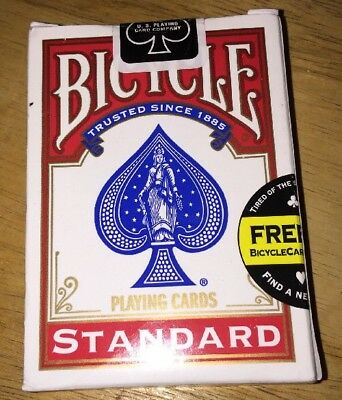 NEW Sealed Package Deck of BICYCLE Standard Face Poker Playing Cards
