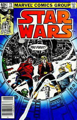 Star Wars #72 VF/NM; Marvel | save on shipping - details inside