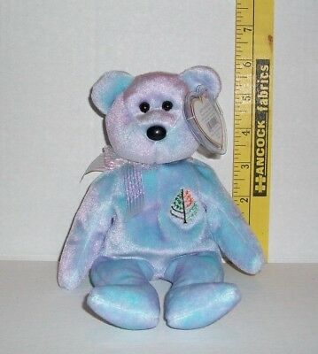 da640e88681 ISSY TY BEANIE BABY BEAR NEVIS THE FOUR SEASONS HOTEL 8.5