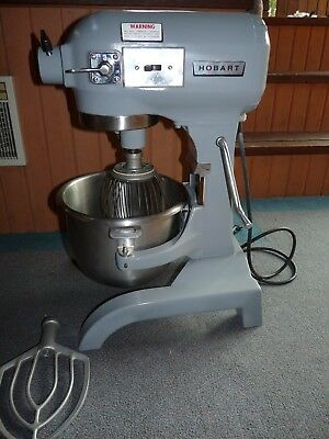 Hobart A120 12 Quart Commercial Bakery Mixer Stainless Bowl Dough Whip Hook