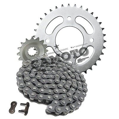 Heavy Duty Chain & Sprocket Kit Honda CB125 S 75-79