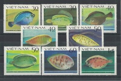 1982 Vietnam Fish SG 518/25 Muh Set 8