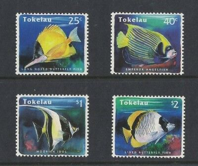 1995 Tokelau Islands Fish SG 224/7 Muh Set