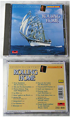 JAMES LAST Rolling Home .. 1988 Black Silver FreizeitRevue Polydor CD