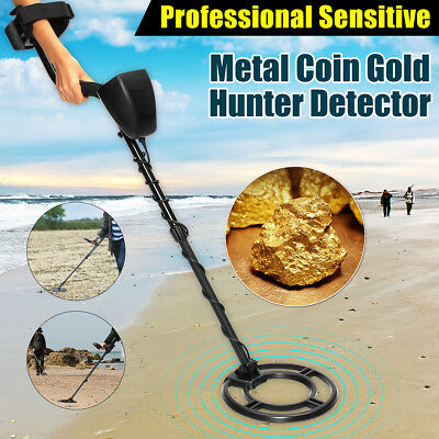 GC1032 LCD Waterproof Coil Metal Detector Gold Coin Silver Digger Folding Shovel