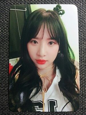 WJSN SEOLA Official PHOTOCARD #1 Moment Ver 4th Happy Moment Album Cosmic Girls