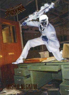 Spiderman Fleer Ultra 2017 Base Card #15 Mr. Negative