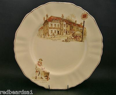 J & G Meakin Old Pack Horse Inn Cries of London Vintage China Plate England