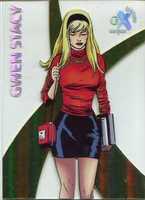 Spiderman Fleer Ultra 2017 EX Century Chase Card EX4 Gwen Stacy