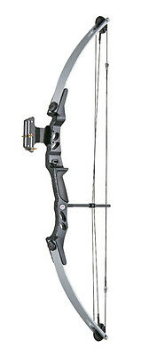 ARCO COMPOUND 55 LBS MAN KUNG Mod.NERO ed SILVER new!!!!
