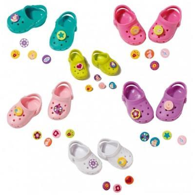 Baby Born Dolls Shoes With Pins - Doll Accessories by Zapf Creation New
