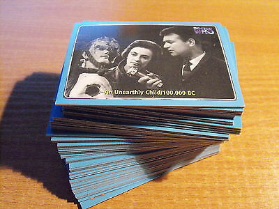Doctor Who The Definitive Collection Serie 1 Komplettes Basis-Set Of Cards