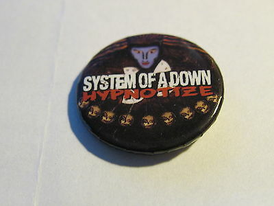 System Of A Down - Hypnotize - Promo Button / Pin --------- K @ @ L