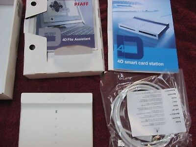 Pfaff 4D Creative Smart Card Station Reader Writer New In Box
