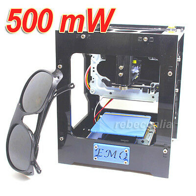 EMO 500mW USB Laser Engraving Cutting Machine Engraver Cutter Engravers Printers