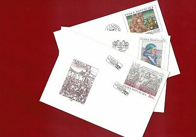 2014/5 Czech Republic Specimen 18 FDCs Wholesale Lot