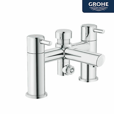 GROHE CONCETTO MODERN Bathroom Bath Tub Shower Mixer Chrome Deck ...