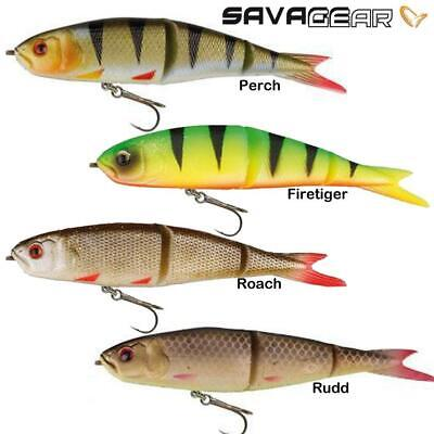 Savage Gear Soft 4-Play Swim & Jerk Ready To Fish Lures - 9.5Cm ,13Cm , 19Cm
