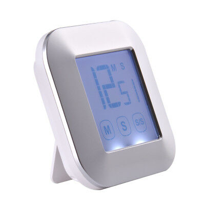 LCD Touch Screen Kitchen Timer Count Down/Up Alarm Cooking Resting Study HS1003