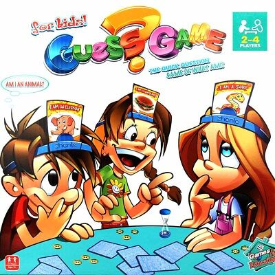 What Am I ? Board Game 2-4 Players With Headbands FAST DELIVERY Kids Toy Gift UK