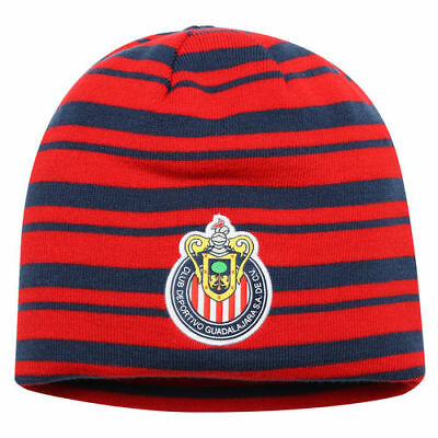 Puma Chivas Red/Navy Reversible Knit Beanie - International Clubs