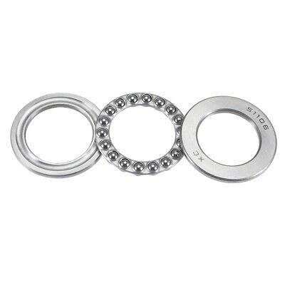 51106 47mm x 31mm x 10mm Single Direction Thrust Ball Roller Bearing