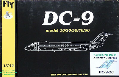 "FLY KITS 14409 DC-9-20 ""Summer Express"" in 1:144"