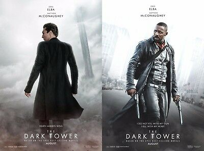 Dark Tower - original DS movie poster - 27x40 D/S Character Set 2