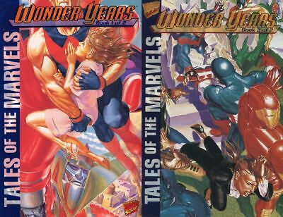 Tales of the Marvels: Wonder Years GN SET #1-2 NM 1995 Marvel Comic Book