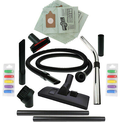10 Bags 1.8M Hose Spare Vacuum Accessory Tool Kit for Numatic Henry Hetty Hoover