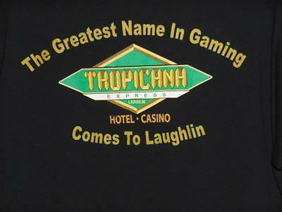 Delta Pro Weight Unisex Adult Size L Tropicana Hotel & Casino Black T-Shirt