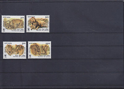 052679 WWF Katzen Cats India ** MNH