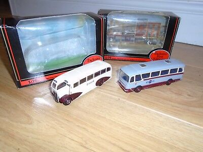 Pair of Exclusive First Edition Diecast Buses for Hornby OO Gauge Train Sets