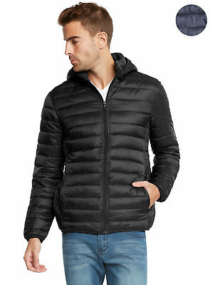 9 Crowns Essentials Men's  Lightweight Puffer Jacket