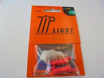 mk 4 tip lights for fishing rods x2 GREEN