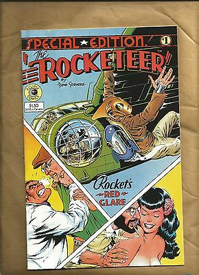 Rocketeer Special Edition 1 vfn 1984 Dave Stevens Bettie Page Pacific Comics