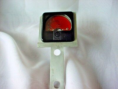 Vintage Marion Elec. Inst. Co. Lighted S Meter (lamp & bulb not included)