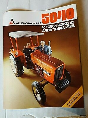 ALLIS-CHALMERS 5040 Booklet