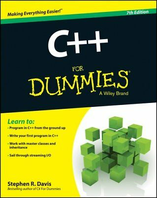 C++ for Dummies, 7th Edition by Stephen R. Davis 9781118823774 (Paperback, 2014)