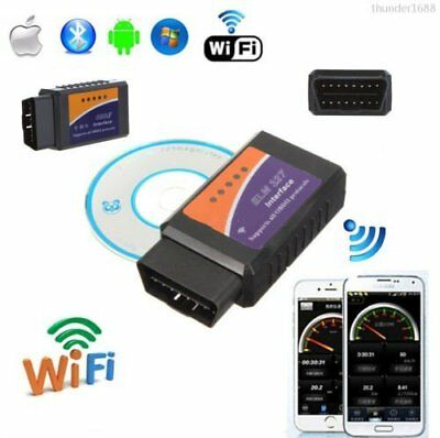 WiFi ELM327 OBDII Auto Scanner per iPhone Android PC DIAGNOSTICO SCANSIONE CN