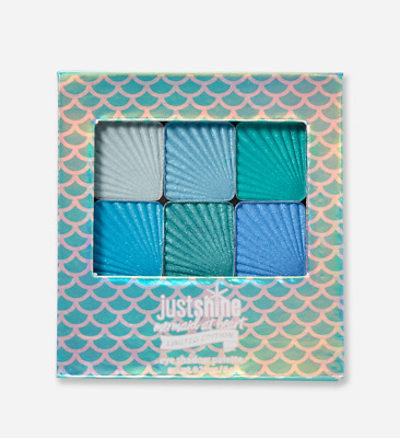 Justice Just Shine MERMAID AT HEART Limited Edition Eye Shadow Palette NEW