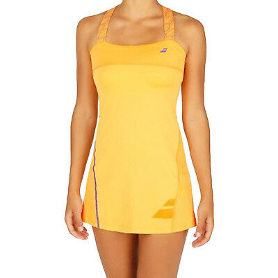 Babolat Girls Performance Strap Sleeveless Sports Match Training Tennis Dress